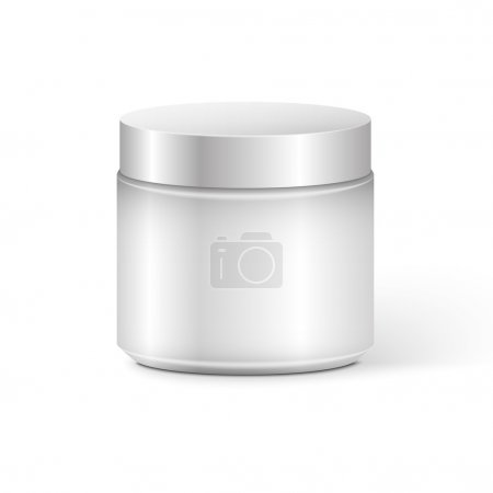 Blank Cosmetic Container for Cream, Powder or Gel