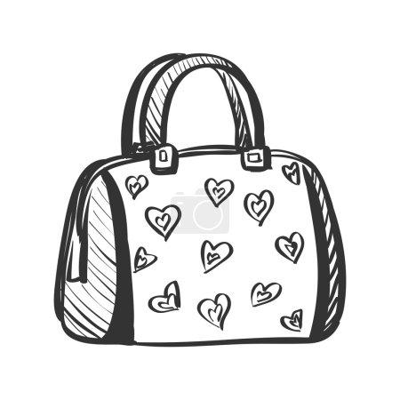 doodle purse