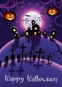 Halloween noc plakát