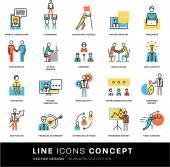 Icons Set  Business Elements