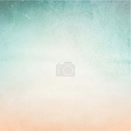Illustration pour Fond abstrait de couleur douce pour le design. Effet texture aquarelle verte. Vecteur . - image libre de droit