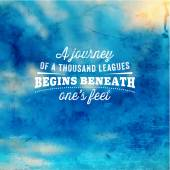 Quote Typographical Background vector design
