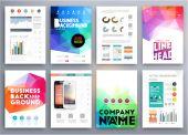Aplikace a služby Online Infographic