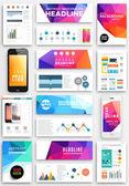 Šablony návrhů Infographic brožura