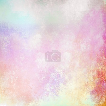 Abstract colorful pastel background