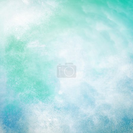 Turquoise abstract grunge background texture