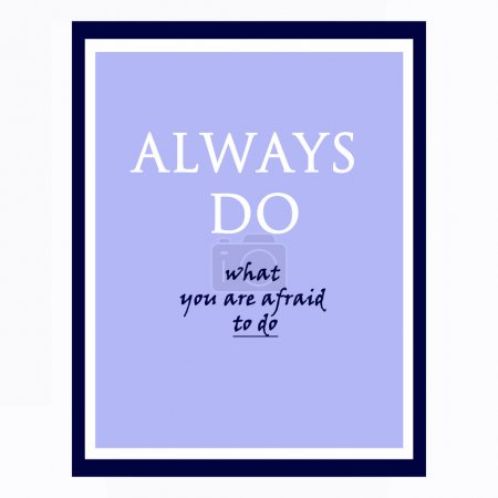 inspirational and motivational quotes poster by Ralph Waldo Emer