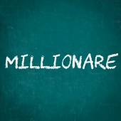 Millionare napsané na tabuli