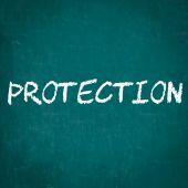 Ochrana, napsané na tabuli