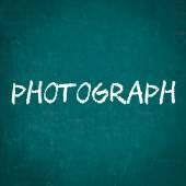 Fotografie, které jsou napsané na tabuli