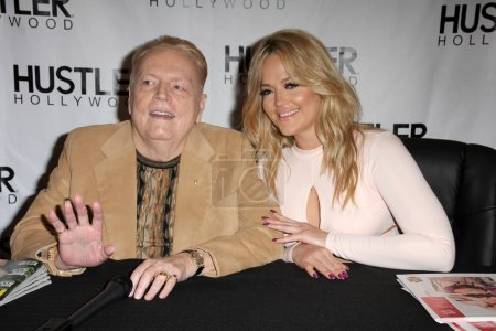 Photo for Larry Flynt, Alexis Texas at the Hustler Hollywood Grand Opening, Hustler Hollywood, CA 04-09-16 - Royalty Free Image