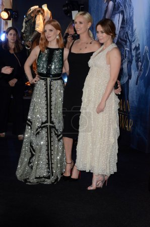 Jessica Chastain, Charlize Theron, Emily Blunt at ...