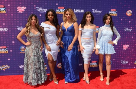 Fifth Harmony fivepiece girl group