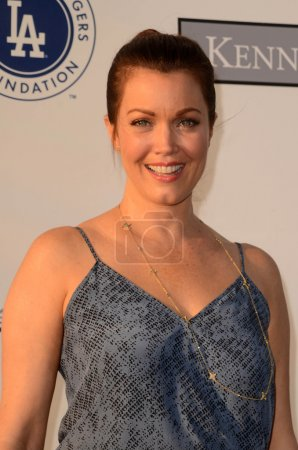 Bellamy Young at the Los Angeles Dodgers Foundatio...