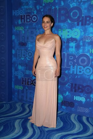 Photo for Emilia Clarke actress at HBO's Post Emmy Awards Reception, Pacific Design Center, West Hollywood, CA 09-18-16 - Royalty Free Image