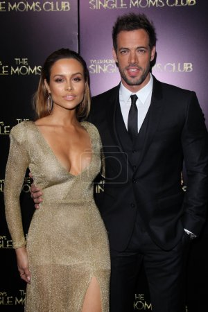 """Photo for Zulay Henao and William Levy at the """"Tyler Perry's The Single Moms Club"""" World Premiere, Arclight, Hollywood, CA 03-10-14 - Royalty Free Image"""