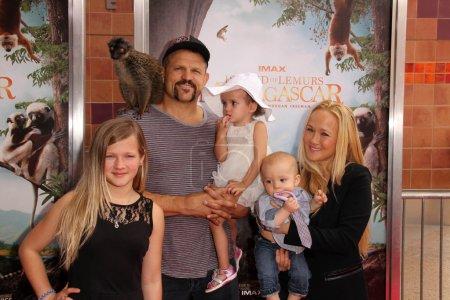 Чак Лидделл и семьи
