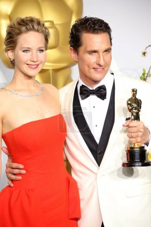Jennifer Lawrence Matthew McConaughey