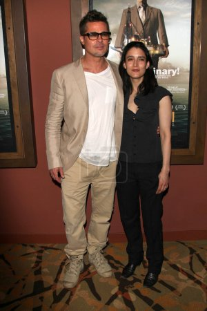 Brad Pitt and Rachel Boynton