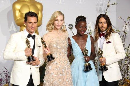 Matthew McConaughey Cate Blanchett Lupita