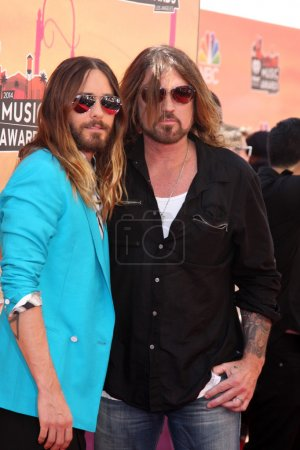 Jared Leto and Billy Ray