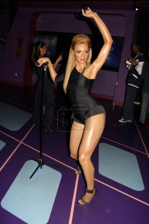 Photo for Beyonce figure at Madame Tussauds Hollywood Grand Opening Party for the Marvel Super Heroes 4D Theater, Madame Tussauds Hollywood, Hollywood, CA 07-10-14 - Royalty Free Image