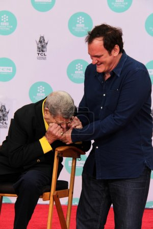 Jerry Lewis and Quentin Tarantino