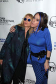 Rosanna Arquette and Alexis Arquette