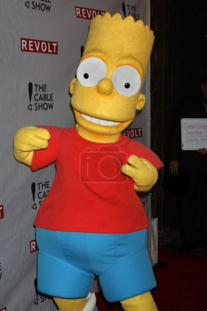 Photo for Bart Simpson at the NCTA's Chairman's Gala Celebration of Cable with REVOLT, The Belasco Theater, Los Angeles, CA 04-30-14 - Royalty Free Image