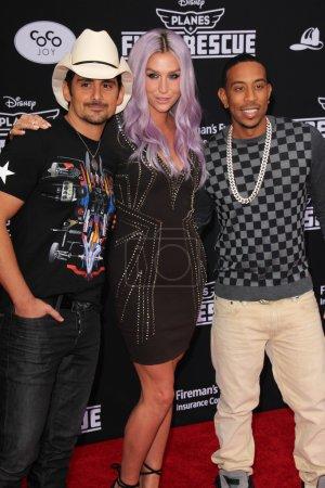 Brad Paisley Kesha Ludacris