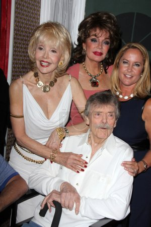 Francine York, Marilyn Hanold, Erin Murphy and Bernard Fox