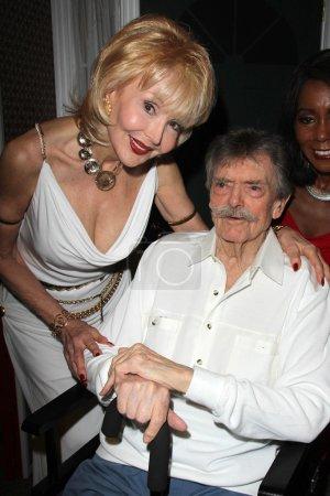 Francine York and Bernard Fox