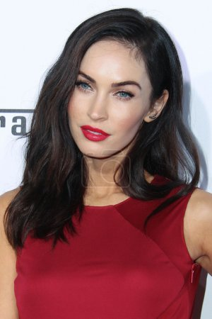 Photo for Megan Fox at Ferrari's Celebration of 60 Years in the USA held at The Wallis Annenberg Center for the Performing Arts, Beverly Hills, CA 10-11-14 - Royalty Free Image