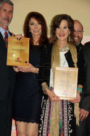 Photo for Cassandra Peterson, Linda Blair at the 2nd Annual 'Waggy Awards' to Benefit the Tailwaggers Foundation, Taglyan Complex, Hollywood, CA 02-08-15 - Royalty Free Image