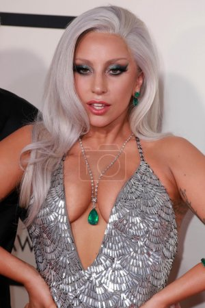 Photo for Lady Gaga at the 57th Annual Grammy Awards, Staples Center, Los Angeles, CA 02-08-15 - Royalty Free Image