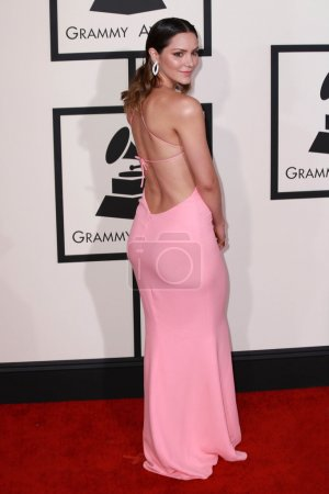 Katharine McPhee at the 57th Annual Grammy Awards,...