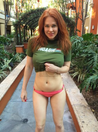 Photo for Actress Maitland Ward Memorial Day Pool Party, Private Location, Los Angeles, CA 05-25-15 - Royalty Free Image