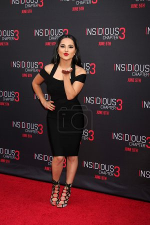 Becky G at the