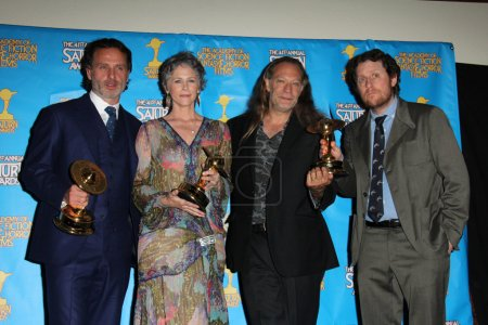 Andrew Lincoln Melissa McBride Gregory