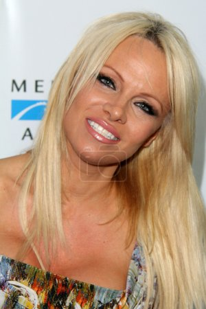 Photo for Pamela Anderson at the Mercy For Animals Hidden Heroes Gala, Unici Casa, Culver City, CA 08-29-15 - Royalty Free Image