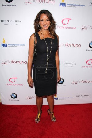 """Photo pour Eva La Rue à """"A Toast To The Emmys Celebrating Diversity"""", The Penninsula, Beverly Hills, CA 15-09-15 - image libre de droit"""