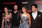 Ana de Armas, Keanu Reeves, Lorenza Izzo, Eli Roth