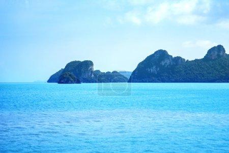 Sea, sky and land. Thailand nature