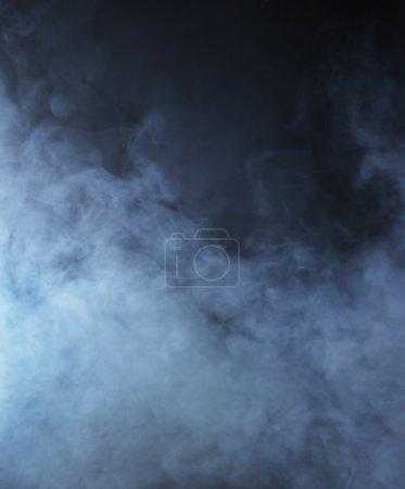 Smoke over black