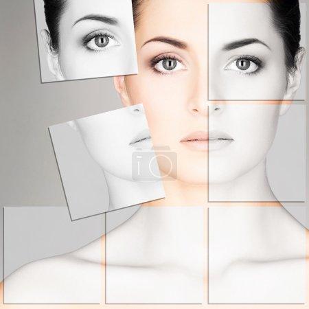 Woman plastic surgery