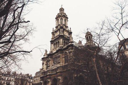 The Holy Trinity Church in Paris, France