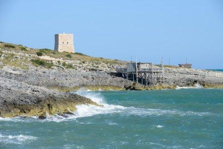 Old watchtower near Vieste