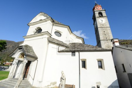 The church of San Fedele at Verscio