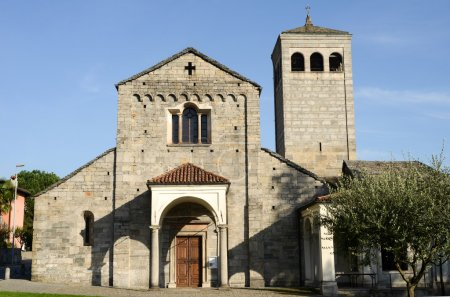 The church of San Vittore at Muralto
