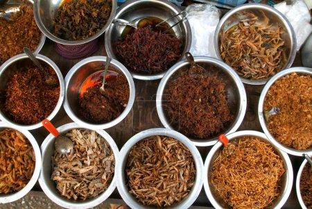 Food of a street restaurants of Yangon